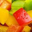 Raw colored pepper — Stock Photo