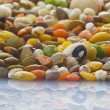 Legumes mix — Stock Photo