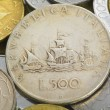 Italian lira coin — Stock Photo