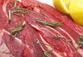 Raw horse meat — Stock Photo