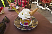 Ice cream in a cup — Foto Stock