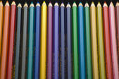 Many colored pencil — Stock Photo