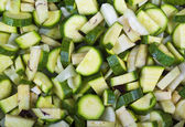 Raw Zucchini — Stock Photo