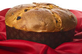 Panettone Christmas cake — Stock Photo