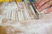 Italian homemade pasta — Stock Photo