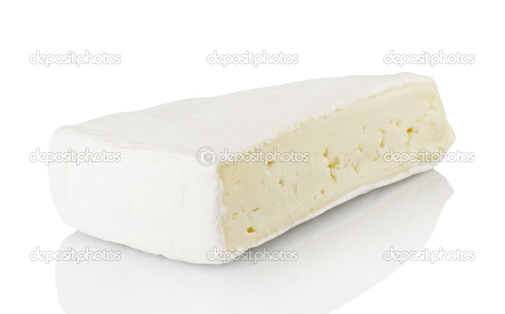 a piece of Brie cheese — Stock Photo #7202796