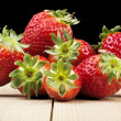 Strawberries mix — Stock fotografie