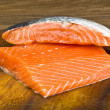 Salmone fillet — Stock Photo