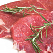 Roastbeef with rosemary — Stock Photo