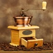 Vintage coffee grinder — Stock Photo #7406374