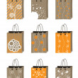 Royalty-Free Stock Vector Image: Shopping package illustration