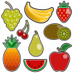 Fruit icon — Stock Vector #6902826