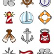 Nautical icon — Stock Vector #6902903