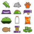 Royalty-Free Stock 矢量图片: Cat object icon