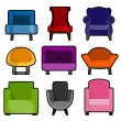 Stock Vector: Furniture icon