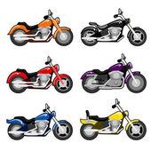 Motorbike vector — Stock Vector