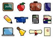 Education icon — Vector de stock