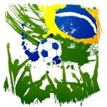 Worldcup brazil — Stock Vector