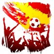 Stock Vector: Worldcup spain