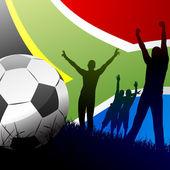 World cup southafrica — Vector de stock