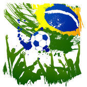 Worldcup brazil — Vector de stock