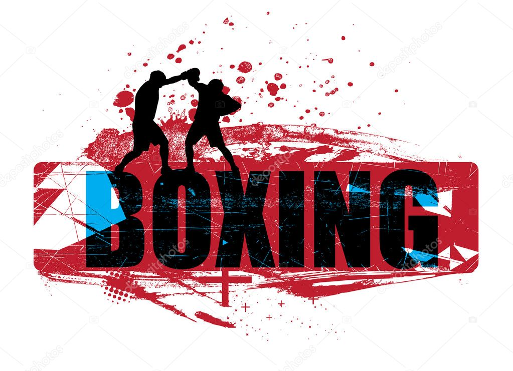 Boxing Background Boxing grunge background Empty Gym Wallpaper