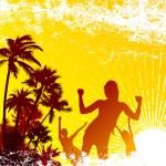 Tropical party — Stock Vector #7406798