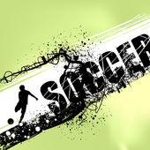 Fotbal vektor — Stock vektor