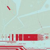 Digital background — Stock Vector