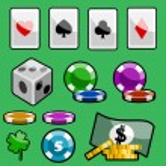 Casino design elements — Stock Vector #7619227