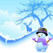 Iceman vector — Stock Vector