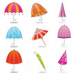 Umbrella clip art — Stock Vector