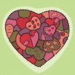 Royalty-Free Stock : Decorative hearts