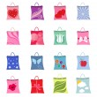 Shopping packages — Stock Vector