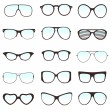 Glasses vector — Vettoriali Stock