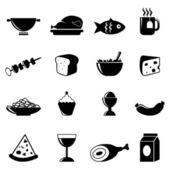 Food set — Stock Vector