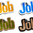 Job signs — Stock Photo #6895319