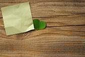 Green note — Stock Photo