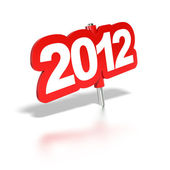 2012 tag — Stock Photo