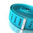 Plastic tapemeasure — Stock Photo #7892649