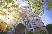 The Cathedral of Soller, Mallorca — Stock Photo
