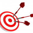Success business target — Stock Photo