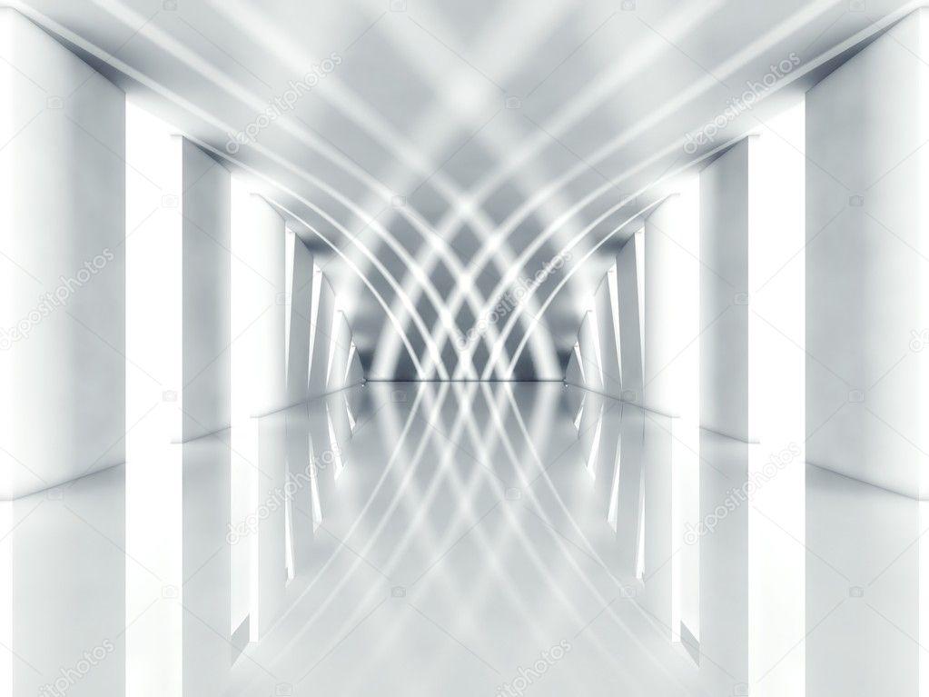 3d Modern Architecture Interior Stock Photo Leszekglasner