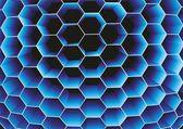 Honeycomb. Vector. — Stock Vector