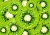 Vector Fruit of the Kiwi. — Stock Vector