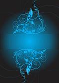 Patterns blue — Stock Vector