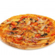 Stock Photo: Hot and tasty pizza