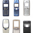 Mobile phones set — Stock Photo #7306078