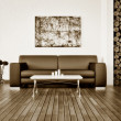 Modern interior room with nice furniture inside. — ストック写真