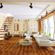 Modern interior room with nice furniture inside. — Stock Photo #6921669